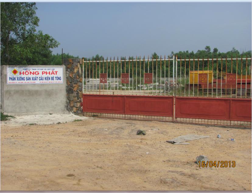 Xưởng đúc cọc bê tông
