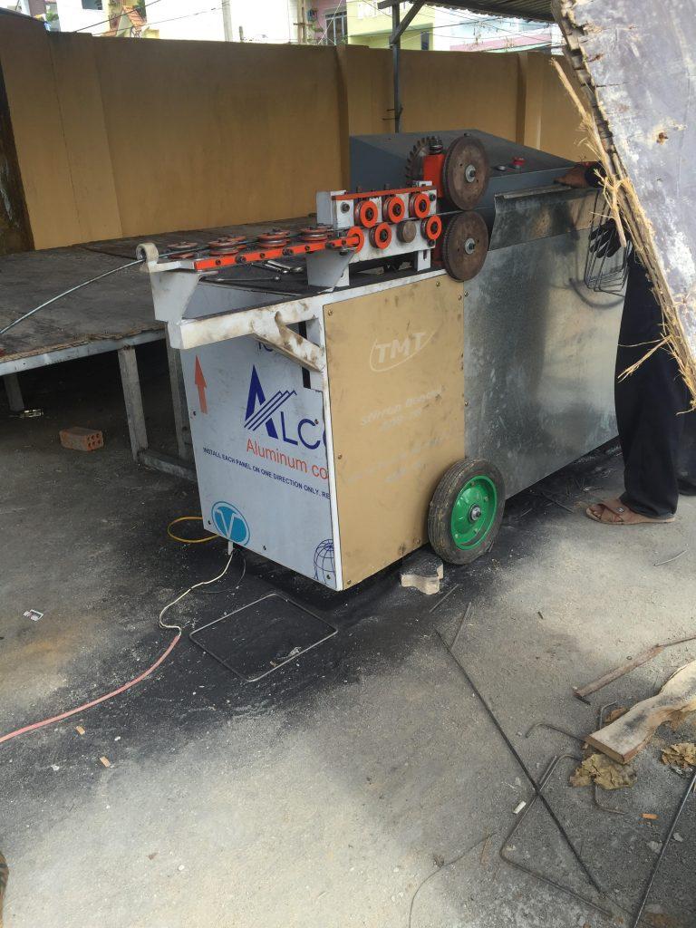 Máy uốn đai thép tự đồng Hồng Phát