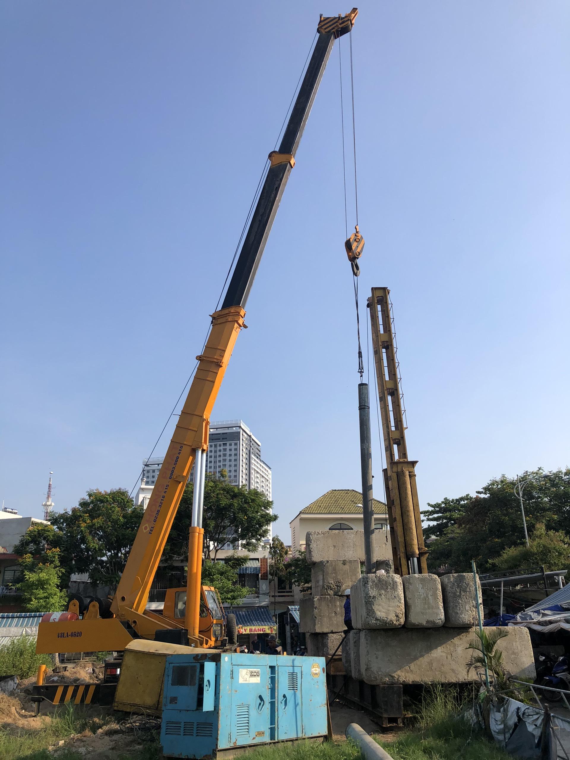 Hồng Phát ép cọc bê tông D300